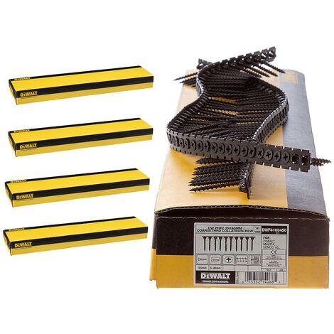 Dewalt 25mm x 3.5mm Fine Thread Collated Screws X 5000 Fits DCF620 Makita Fein