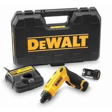DeWALT Akku-Knickschrauber DCF680G2-QW - inkl. 2 x 7,2 V 1,0 Ah Li-Ion Akkus