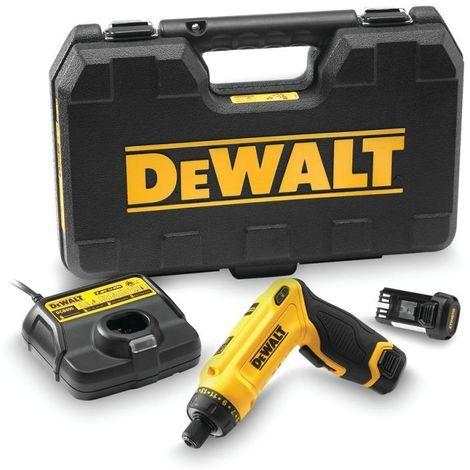 """DeWalt Akku-Schrauber 1/4"""", 7,2 V / 1 Ah - DCF680G2-QW"""