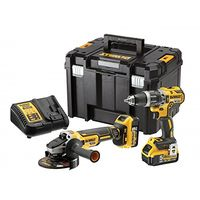 Dewalt Brushless 2 Speed Twin Kit 18V 2 x 5.0Ah Li-ion