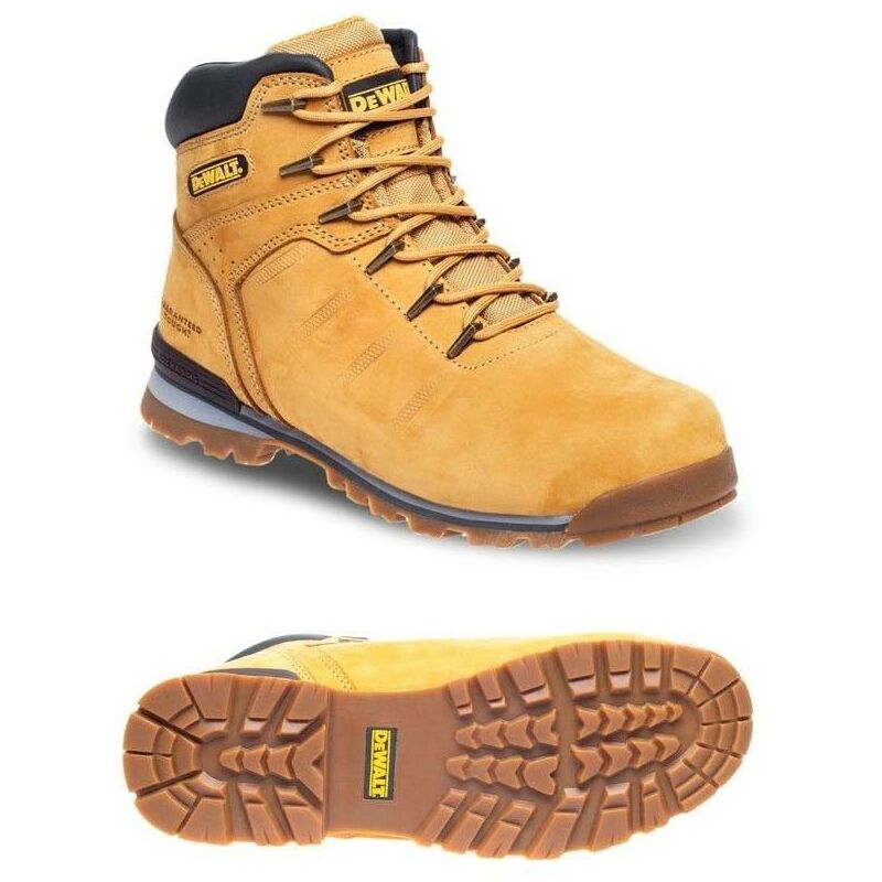 Image of Buyaparcel - DeWalt Carlisle Tan Safety Boots Work Boots Steel Toecap UK Sizes 11 EN 20345SB