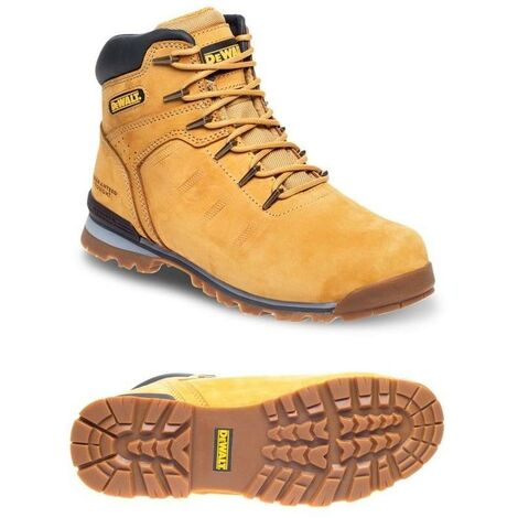 DeWalt Carlisle Tan Safety Boots Work Boots Steel Toecap UK Sizes 7 EN 20345SB