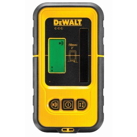 DeWALT Cellule de détection pour laser ligne faisceaux vert, 60 m, pince de serrage - DE0892G-XJ