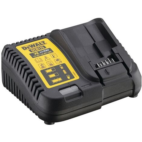 Rouge M12-18C Chargeur de batterie Portable Power Tool Batterie rapide chargeur adapt/é aux batteries Li-Ion 12-18V 3A de Milwaukee