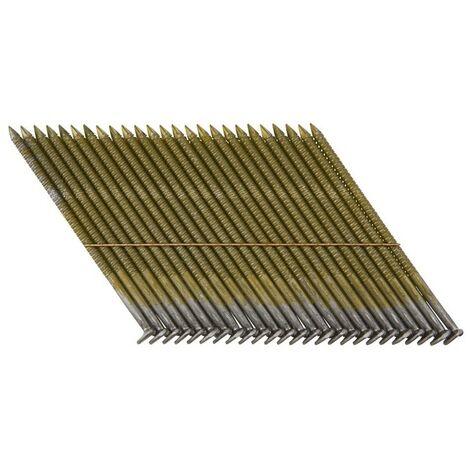 DeWALT Clous 34°, Cranté, 75 mm, 2200 pièces - DNW28R75E