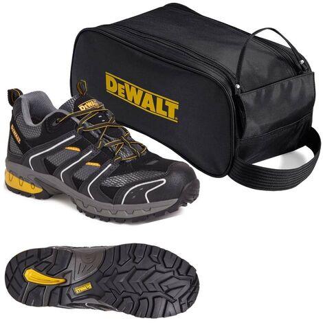 DeWalt Cutter Lightweight Safety Site Trainer Steel Toecap UK Size 10 with Bag