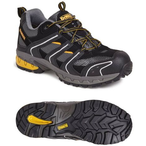 DeWalt Cutter Lightweight Safety Trainer Site Work Shoes Steel Toecap UK Size 13
