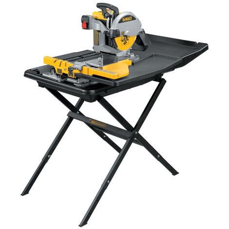 DeWalt D24000L 110V 1 Stand Wet, Tile Saw With Slide Table
