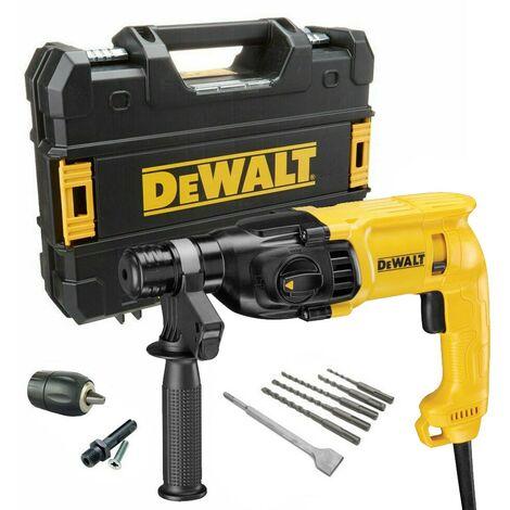 Dewalt D25033K 110v SDS+ 3 Mode SDS Hammer Drill + Bits + Chisel + Chuck + Tstak