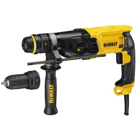 DeWalt D25134K SDS 3 Mode Hammer Drill 800 Watt 240 Volt With Quick Change Chuck