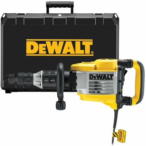 DeWALT D25902K Démolisseur SDS-Max 10kg 1500W avec Coffret Marteau Piqueur