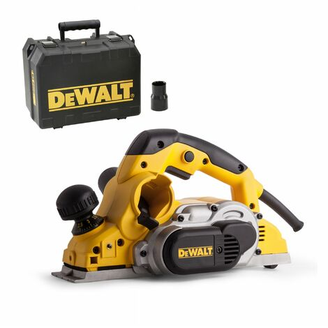 DeWalt D26500K Cepillo en maletín - 1050W - 82mm - 4mm