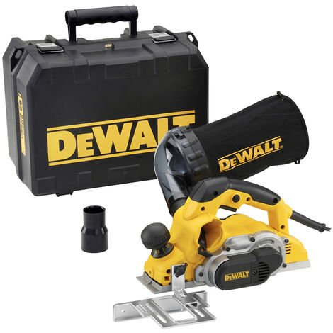 Dewalt D26500KL 1050W Planer In Kit Box 110V