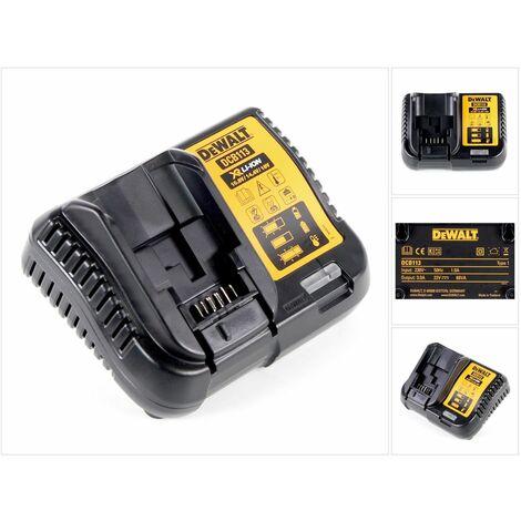 DeWALT DCB 113 Cargador XR de 10,8 V - 18 V para baterías de litio