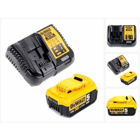 Dewalt DCB 113 P1 Chargeur 18V + 1x Batterie 5,0Ah