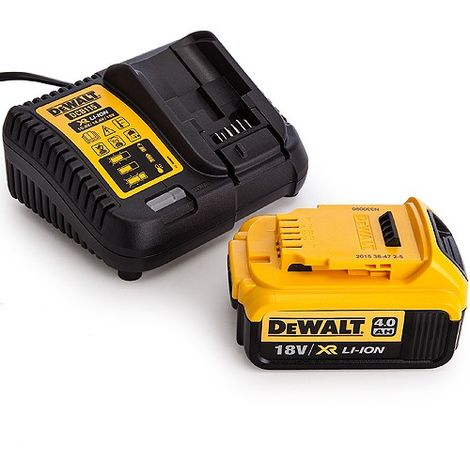 DeWalt DCB182 18V 4.0Ah Battery DCB115 10.8V-18V Multi Voltage Charger