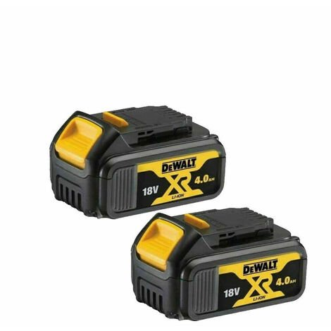 Dewalt DCB184 18V XR 5ah Slide Battery *TWIN PACK* |