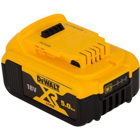 DEWALT DCB184-XJ Batería carril XR 18V 5,0Ah Li-Ion