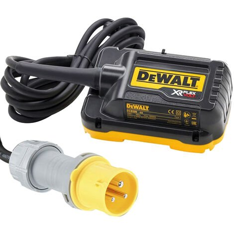 DeWalt DCB500 110V Main Adapter for 2 x 54V Mitre Saw DHS780