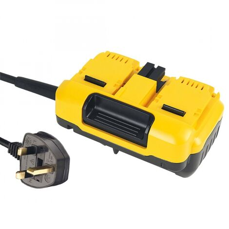 DeWalt DCB500 240V XR FLEXVOLT Mains Adapter for Twin 54V Mitre Saws