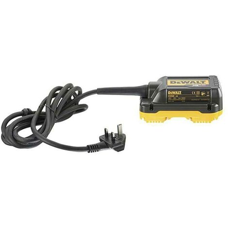 DeWALT DCB500-GB 240v Mains Adapter for 2x 54V Mitre Saw