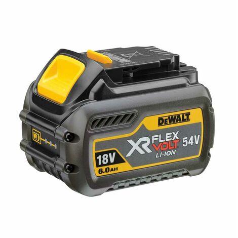 DeWalt DCB546 18V / 54V XR Flexvolt Li-Ion batería - 6.0Ah