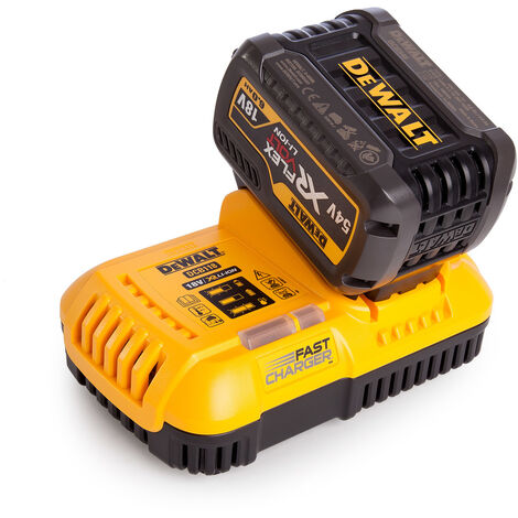 one Size 18 V Yellow//Black Dewalt DCB118-GB DCB118 XR Multi-Voltage Fast Charger