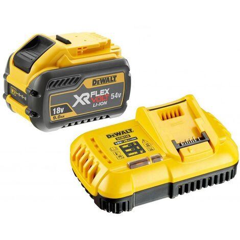 Dewalt DCB547 18v / 54v XR Flexvolt 9.0ah Battery + DCB118 Fast Charger