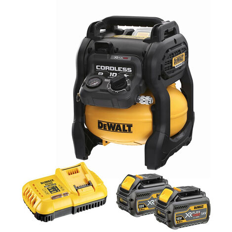 Dewalt DCC1054T2 54V XR Flexvolt Air Compressor 2 x 6.0Ah Batteries