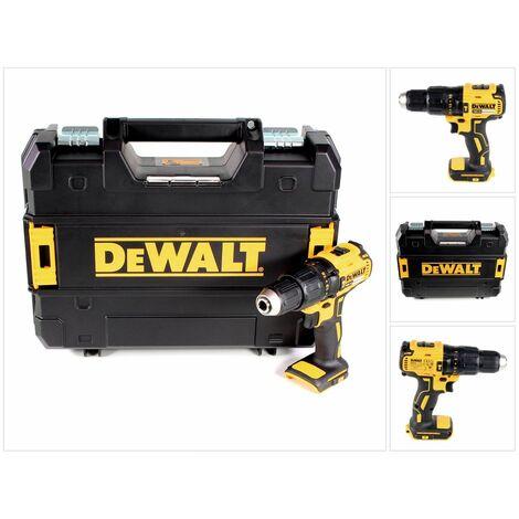 DeWalt DCD 778 NT Perceuse-visseuse à percussion sans fil 18V 65Nm + Coffret de transport TSTAK Box - sans Batterie, sans Chargeur