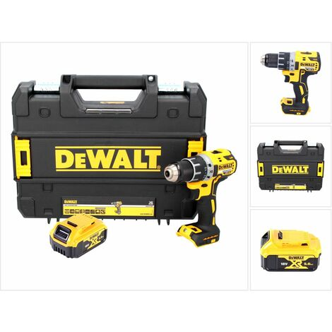 DeWalt DCD 791 18 V Perceuse sans fil Brushless avec boîtier TSTAK-Box + 1x Batterie DCB 184 5,0 Ah - sans Chargeur
