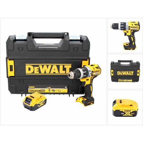 DeWalt DCD 796 NT Perceuse-visseuse à percussion sans fil Brushless 18V 70Nm + 1x Batterie 5,0 Ah + Coffret de transport - sans chargeur