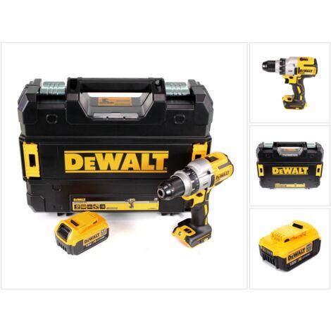 DeWALT DCD 991 Taladro atornillador a batería XR 18 V en maletín TSTAK + 1x Batería DCB 182 4,0 Ah - Sin cargador incluido