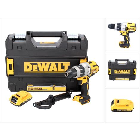 DeWALT DCD 996 Taladro percutor a batería XR 18V en maletín TSTAK + 1x Batería DCB 183 2,0 Ah