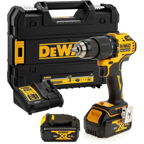 Dewalt DCD709M2T 18v XR Brushless Compact Combi Hammer Drill Tstak - 2 x 4.0ah