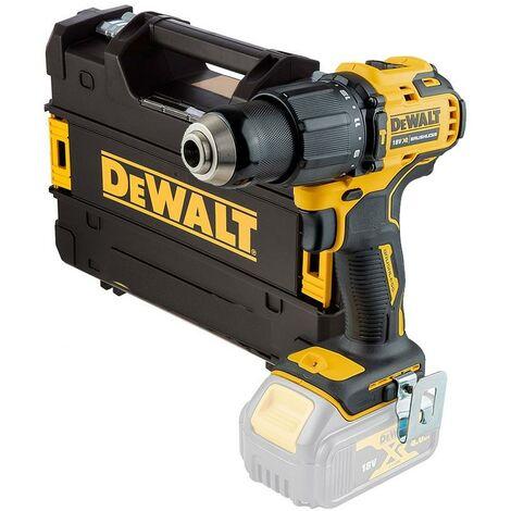 Dewalt DCD709N 18v XR Brushless Compact Combi Hammer Drill Bare + Tstak Case
