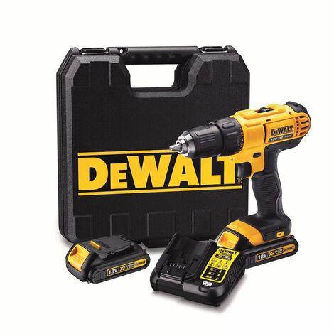 """main image of """"DeWalt DCD771C2 18V TLi-Ion batería Taladro Atornillado set (2x baterías de 1.3 amperios) en maletín"""""""