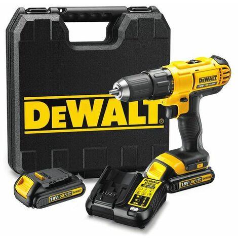 DeWalt DCD771C2 18V TLi-Ion batería Taladro Atornillado set (2x baterías de 1.5 amperios) en maletín