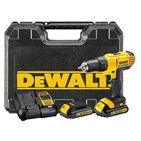 DeWALT DCD771C2 - cordless combi drills (Lithium-Ion (Li-Ion), Black, Yellow)