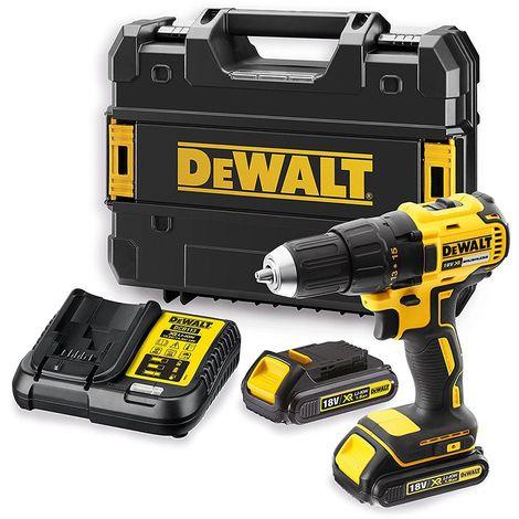 DeWALT DCD777S2T Perceuse Visseuse 18V 2x batteries et Coffret