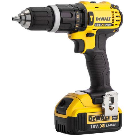Dewalt DCD785N 18V XR Li-ion 2-Speed Combi Drill with 1 x 4.0Ah Battery:18V