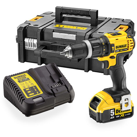 """main image of """"DeWalt DCD785P1 XR 18V Combi Drill with 1x 5.0Ah Battery"""""""