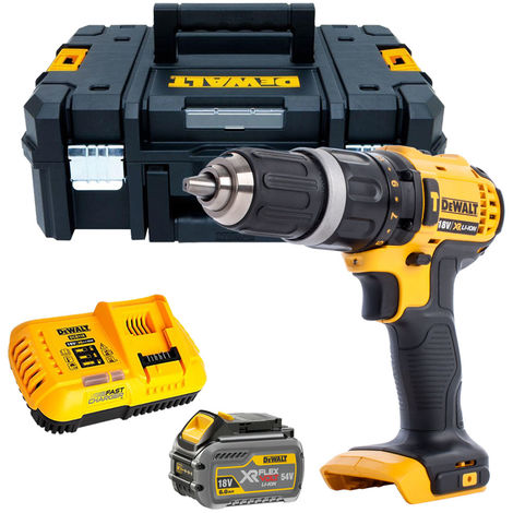 """main image of """"Dewalt DCD785T1 18V 2-Speed Combi Drill with 1 x 6.0Ah Battery & Charger in TSTAK"""""""