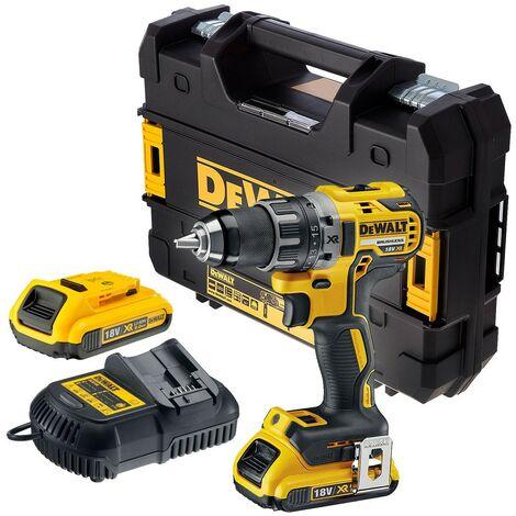 Dewalt DCD791D2 18v XR Brushless Compact Drill Driver - 2 x 2.0ah Batteries