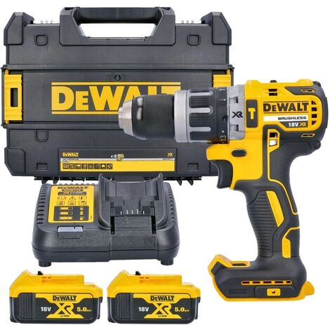 DEWALT DCD791D2 Brushless Compact Drill Driver 18 Volt 2 x 2.0Ah Li-Ion