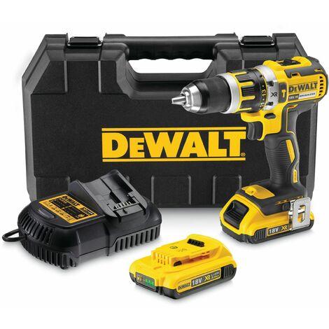 DeWALT DCD795D2-QW 2 batteries 18V 2,0 Ah, 13 mm mandrin, 15 r