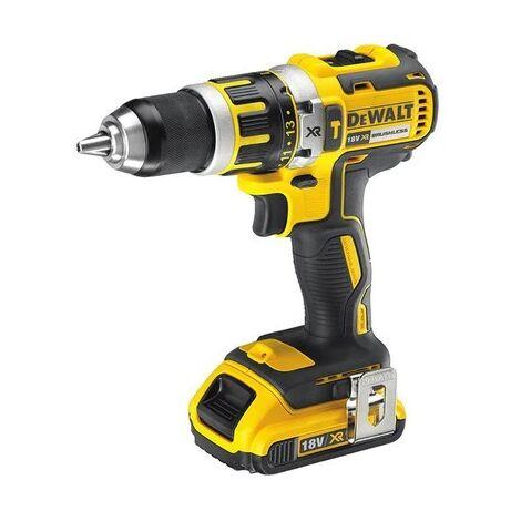DeWALT DCD795D2-QW 2 batteries 18V 2,0 Ah, 13 mm mandrin, 15 reglages de couple