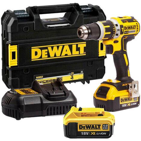 DeWalt DCD795M2 Combi Drill 18V XR Brushless with 2 x 4.0 Ah & Case