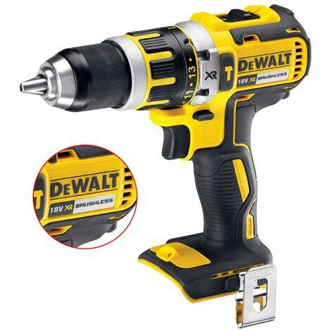 "main image of ""Dewalt DCD795N 18v XR Li-Ion Brushless Compact Combi Hammer Drill - Bare Tool"""