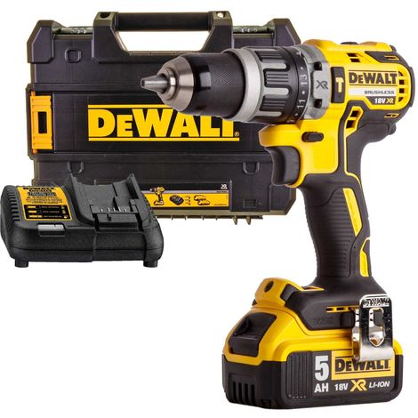 DEWALT DCD796 perceuse visseuse percussion 18v (1 x 5Ah) 70Nm